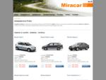 Autopůjčovna Praha Miracar | půjčovna aut, operativní leasing, autopůjčovna pro firmy v Praze, A