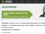 MIRANDA Partners AS - IT-konsulentvirksomhed i Stork248;benhavn. Vi udvikler og r229;dgiver om