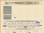 Octave Mirbeau (1848-1917)