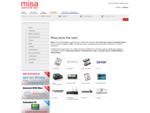 Misa, flash memory, USB drive, memory card, wifi, Hsdpa, UMTS, hard disk Misa S. r. l.