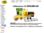 MISAB. SE - Batterier - Smörjmedel - Förgasare - Bilelektriskt - Bilkemiskt - Packningar