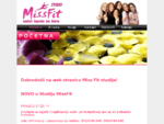 Kozmeticki salon Miss Fit Studio, Novi Sad