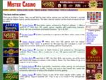 Mister Casino - Best online casinos