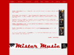 """Musiker Mister Music – Proff. musiker til festen"""