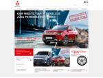 Japoniški automobiliai ir serviso paslaugos - Mitsubishi Motors