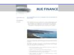 Qui sommes nous  - MJE FINANCE, un conseil pour vos opérations de haut de bilan