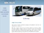 MK-Bus - Autobusy a mikrobusy - O firme