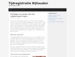 Tijdregistratie Bijhouden - Technologie Meer