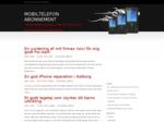 Billige Mobiler | - Prissammenligning, find det billigste mobiltelefon abonnement