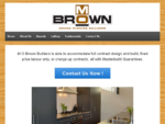 M O Brown Builders - Home - Builders Christchurch