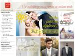 Poročne obleke, poročni nakit in dodatki, poročni čevlji - MOD'ART, salon poročne in svečane mode