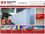 Modular Wall Systems, Garden Walls More – Australia | Modular Walls