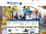 Moisman Sport - articoli sportivi - Genova - visual site