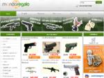 Vendita armi da softair, pistole da softair, fucili da softair e oggetti per difesa personale