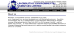 Monolithic Environmental Services Ltd