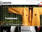 Site officiel MOOTO - Taekwondo, Judo, karateacute;, arts martiaux, Sport de combat - MOOTO