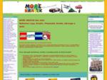 MOŘE HRAČEK stavebnice LEGO DUPLO Playmobil BRUDER CARRERA