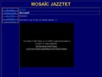 MOSAÏC JAZZTET orchestre de Jazz de Toulouse pour mariages, festivals, Bop et musique festive