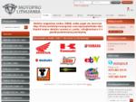 Motociklai - motociklų dalys - Motopro