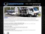 Motorcycle Movers - Melbourne motorbike delivery service pickup or broken down motorcycles