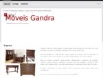 Móveis Gandra - Empresa | fabricante de móveis em pau santo | s. pedro da cova, gondomar, porto