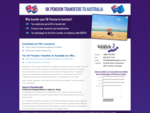 UK Pension Transfers To Australia | Personal Pension Fund to Superannuation