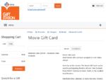 Gift cards (today's gift voucher) for all the leading stores at the Gift Station - Movie Gift Card