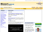 Mozart Community Portal