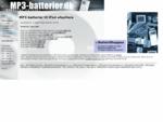 MP3-batterier ipod batteri