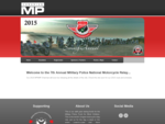 2013 Military Police National Motorcycle Relay Ride