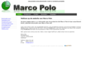Welkom op de website van Marco Polo