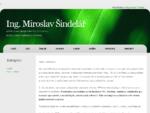 Prodej a servis PC, HW a SW - Ing. Miroslav Šindelář