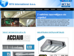 MTS International, d. o. o. , profesionalna razsvetljava, svetila