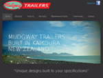 Mudgway Trailers - Quality custom made trailers - Mudgway Trailers - Dunlea Products, Car trailers,