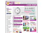 Promotional Mugs, Printed Mugs, Branded Mugs, Personalised Mugs from Mug Shop UK