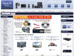 Multihandel. no Nettbutikk for datautstyr, PC, bærbar PC, TV, foto, video og spill.