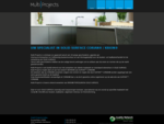 Uw specialist in Solid Surface CORIAN® KRION® | Multi-Projects