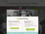 Genealogy, Family Trees Family History Records at Ancestry. com