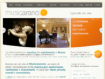 Musica matrimonio Roma - Musicisti matrimonio Roma - Musica feste Roma Musicarancio