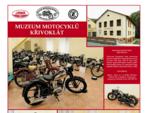 Muzeum motocyklů Křivoklát - motocykly JAWA, ČZ