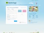 àrvore Genealà³gica gratuita, Genealogia e Histà³ria Familiar - MyHeritage