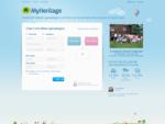MyHeritage - Albero genealogico gratuito - Genealogia e storia di Famiglia
