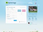 Nemokamas Åeimos Medis, Genealogija ir Åeimos Istorija - MyHeritage