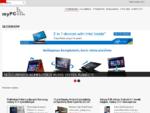 myPC - Jūsų kompiuterinė technika - stacionarūs, nešiojami kompiuteriai bei kita kompiuterin