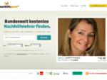 Nachhilfe | Nachhilfelehrer mit Nachhilfeunterricht | nachhilfeportal.de