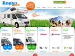 Koptex Caravan najem avtodoma, prikolice in gospodarskega vozila