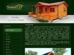 Sodo nameliai. Medinių namelių montavimas