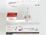 Producent abażurów, lamp i oświetlenia, lampy sufitowe, stojące - Namat Częstochowa