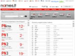 Domenai, serveriai. tl hostingas, virtualūs serveriai, domenų registracija, web hostingas, date
