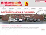 Elektroinstallationen und Elektrogeschäft aus Olfen - Elektrotechnik Michael Nathaus aus Olfen